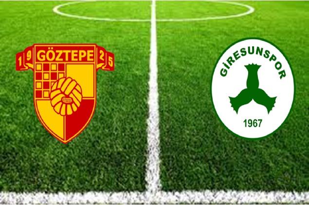 Göztepe - Giresunspor maç