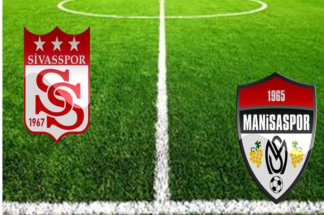 Sivasspor - Manisaspor maç