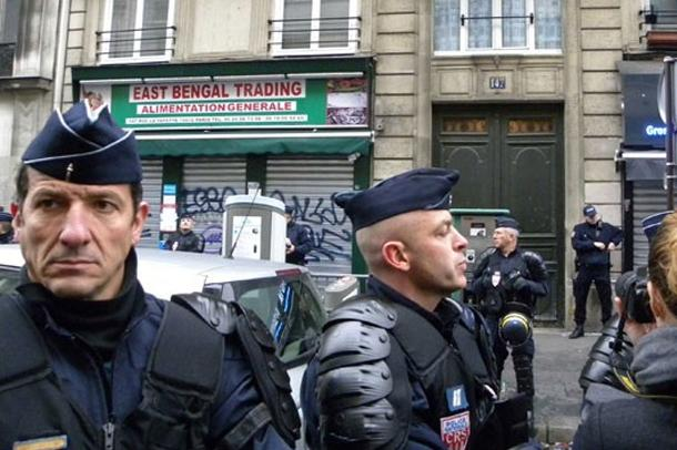 Paris suikastında ilk gözaltı