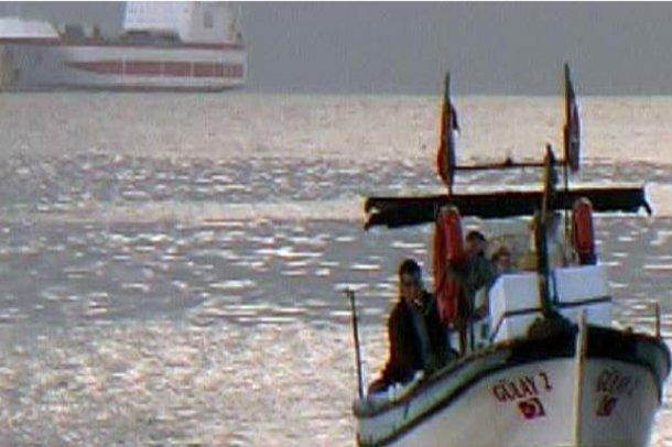 Patriotları taşıyan gemi