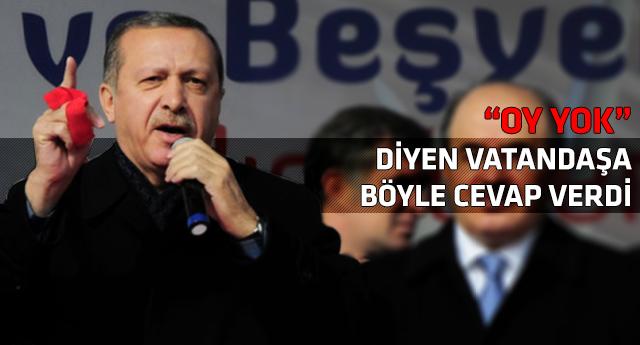 Erdoğanı kızdıran çıkış!