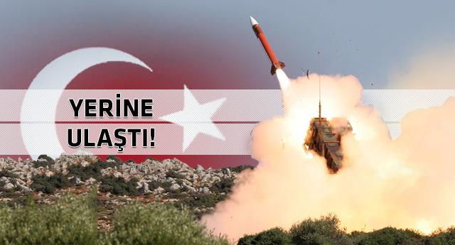 Patriot füzeleri İskenderunda