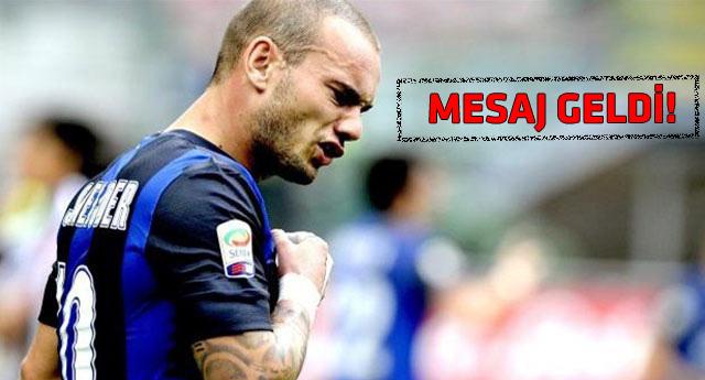 Sneijder, Galatasaray transferi için son kararını verdi mi?