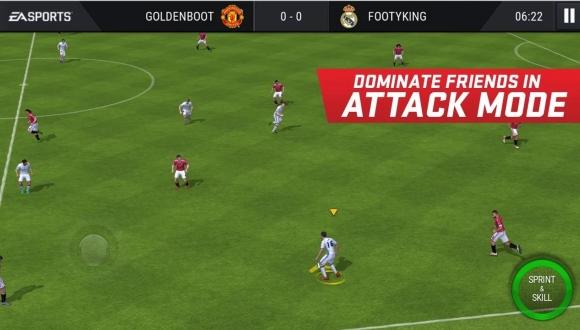 FIFA 17 için Yeni Mobil Oyun