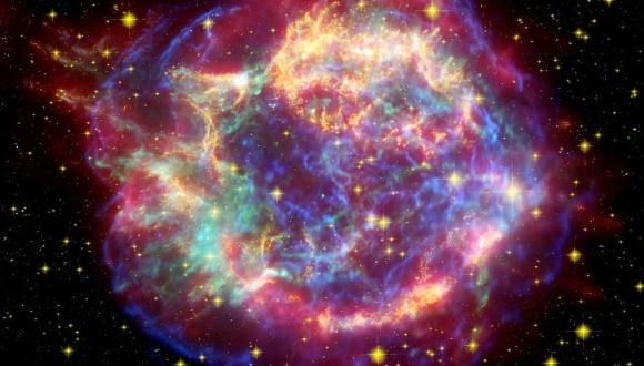 Deniz Tabanında Süpernova Fosili