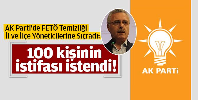 AK Partide FETÖ Temizliği İl ve İlçe Yöneticilerine