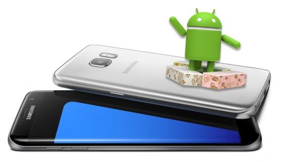 Galaxy S7ler için Nougat tarihi ortaya