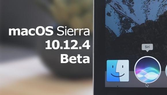 macOS Sierra 10.12.4 Beta 1