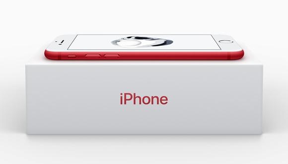 Kırmızı iPhone 7 ve iPhone 7 Plus