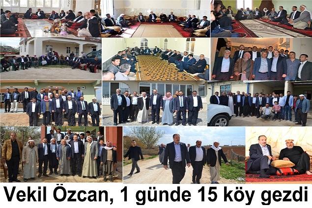 Vekil Özcan, 1 Günde 15 Köy