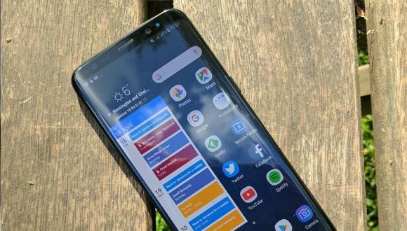 Samsung Galaxy S8 parçalarına