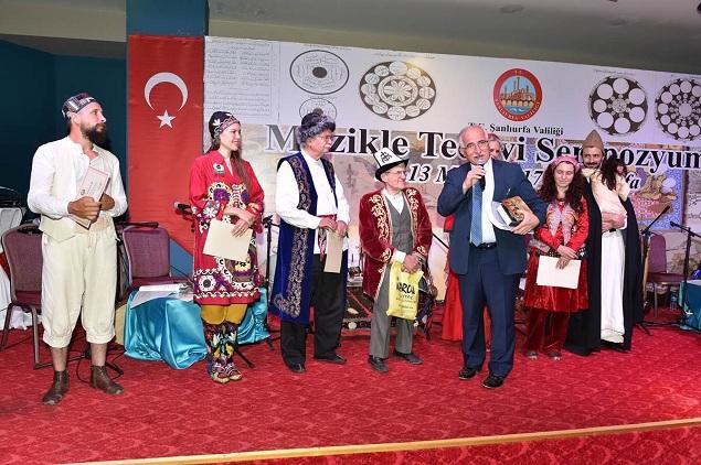MÜZİKLE TEDAVİ SEMPOZYUMU ŞANLIURFA'DA YAPILDI