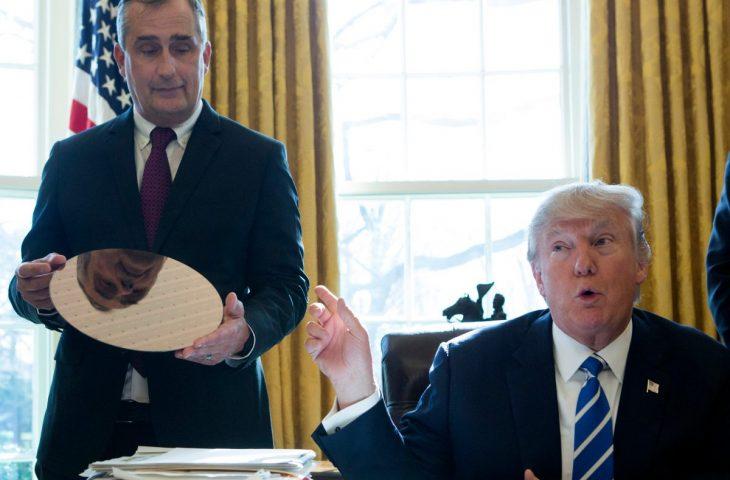Intel CEO'su, Trump'ın kurulundan istifa