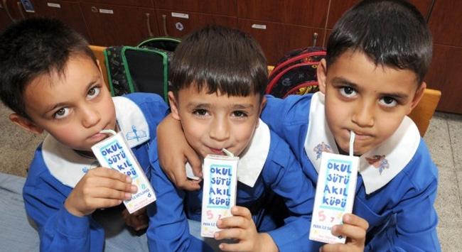 32 bin okulda  60 bin ton Süt dağıtılacak