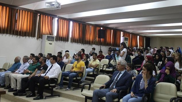 ŞANLIURFA SOSYAL BİLİMLER MYO'DA TANIŞMA TOPLANTILARI