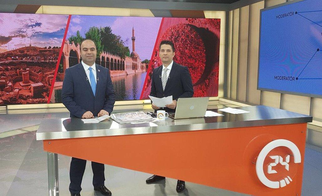 BAŞKAN ÇİFTÇİ 4007 ŞANLIURFA BİLİM ŞENLİĞİNİ TV 24E
