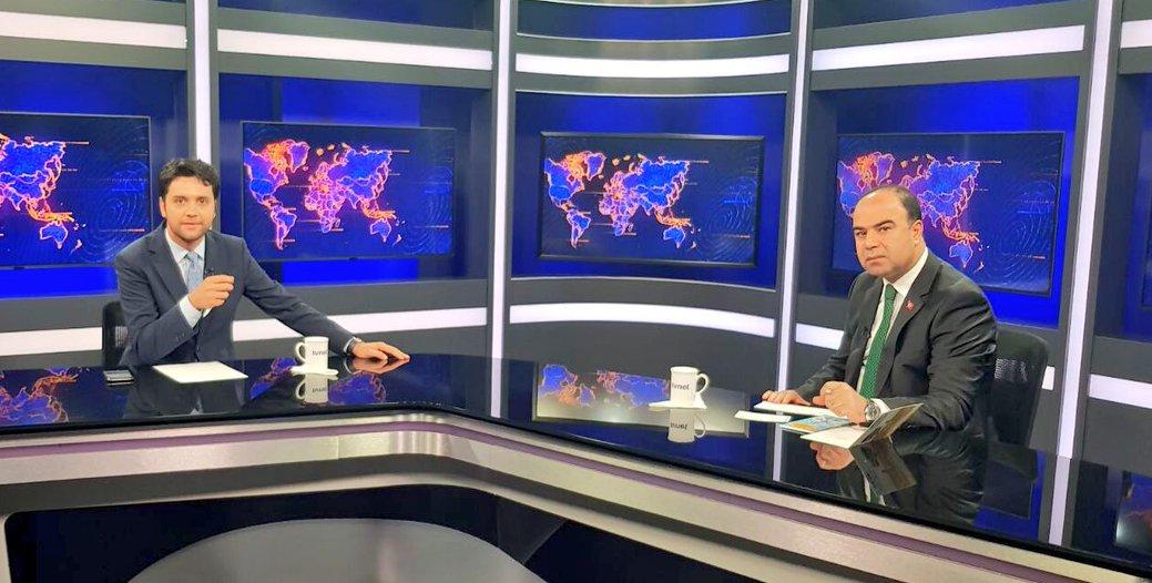 BAŞKAN ÇİFTÇİ, ÇALIŞMALARI TV NET'E DEĞERLENDİRDİ