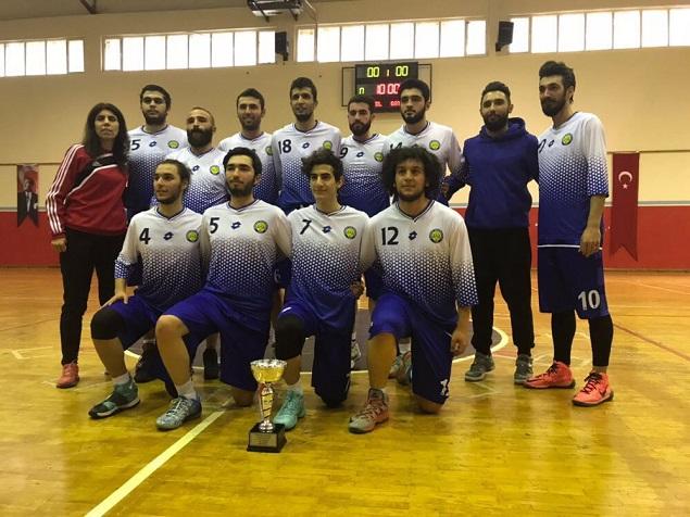 Harran Üniversitesi Basketbol Takımı 1.Ligde