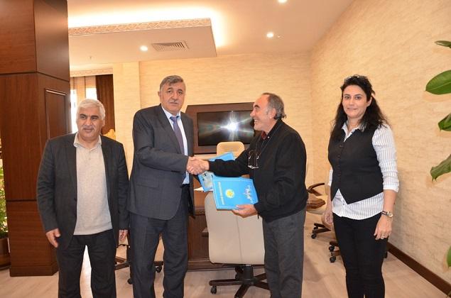 Harran Üniversitesi Tüm Ülkeye Zeytincilik Eğitimi