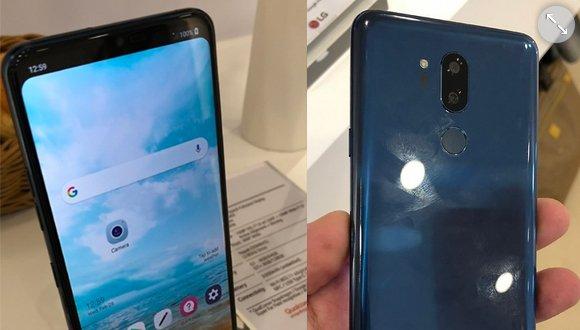 Çentikli ekrana sahip LG G7 ortaya çıktı!