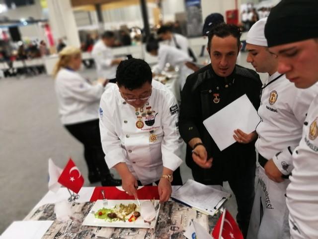 Aşçıları Altı Madalya Birden Kazandı