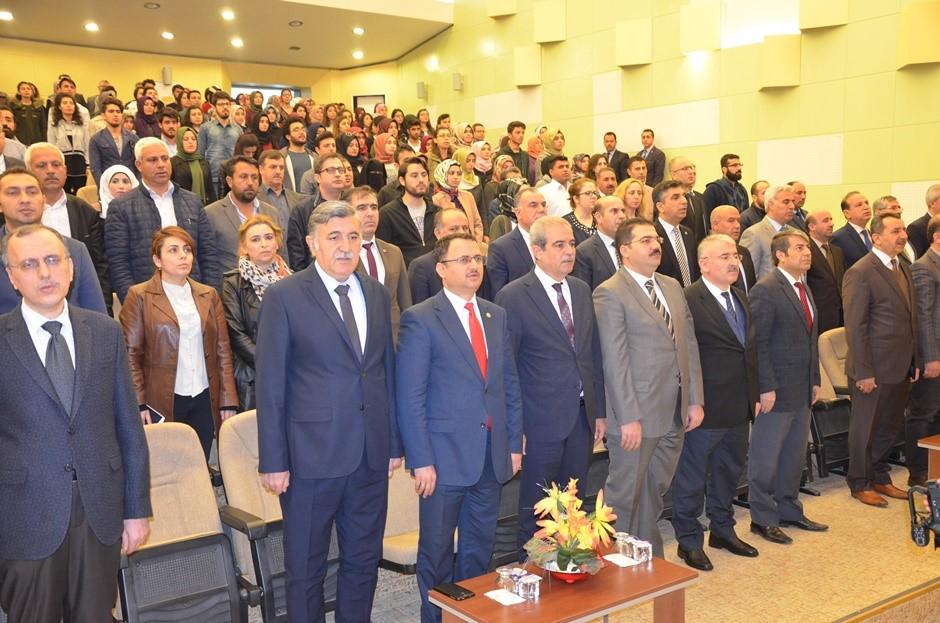 İstiklal Marşının Kabulü ve Mehmet Akif Ersoy'u Anma Programı düzenlendi