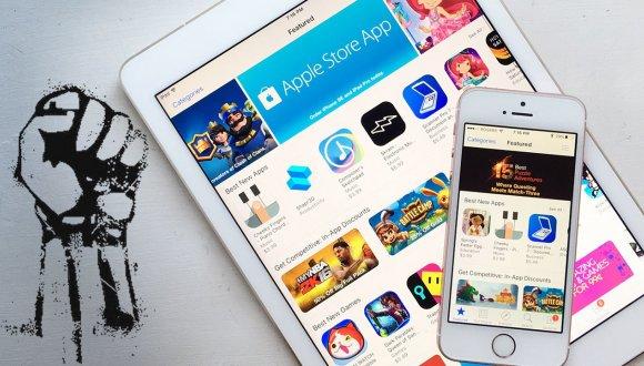 App Store geliştiricileri Apple'a karşı birlik oldu!