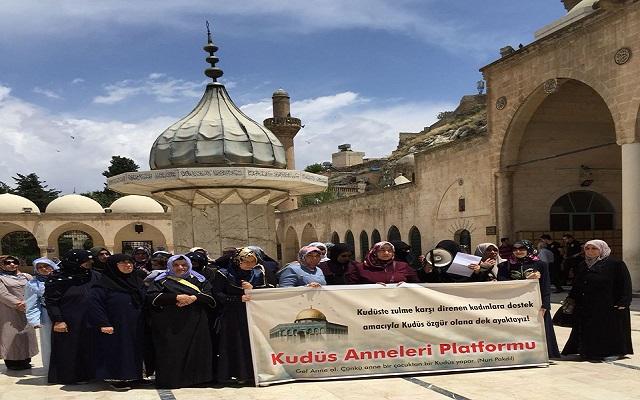 Şanlıurfalı Kudüs Anneleri 23. kez eylem yaptı