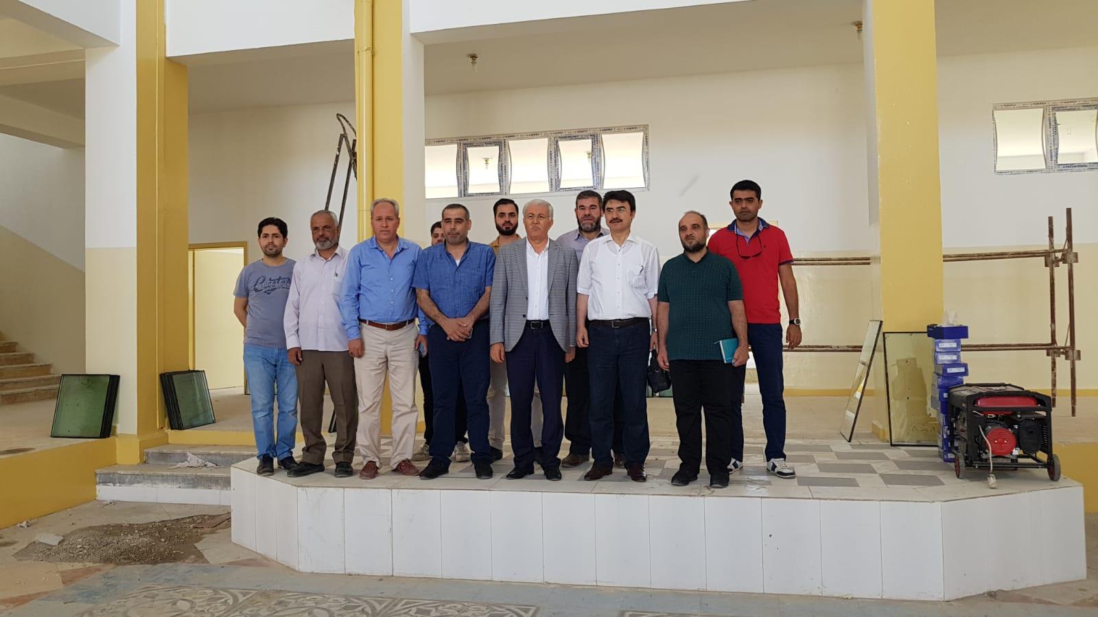 Harran Üniversitesi El-Bab'ta Kampus Kuruyor