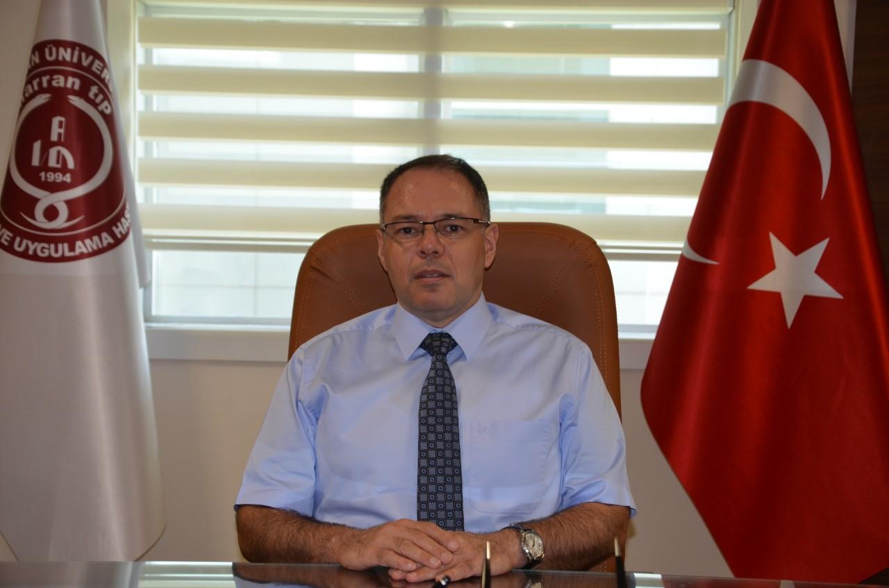 Harran Tıp'ın Yeni Başhekimi M.Akif Altay Oldu harranedutr