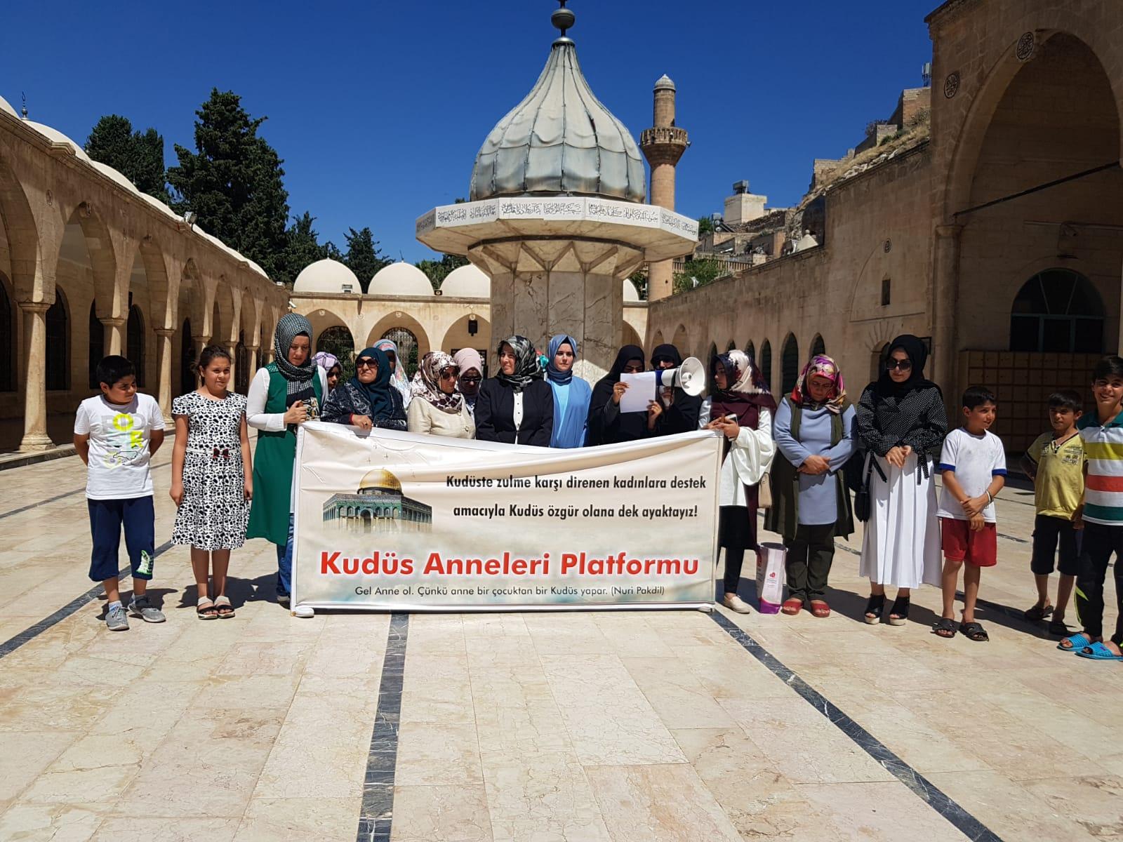 Şanlıurfalı Kudüs Anneleri 28. kez eylem yaptı