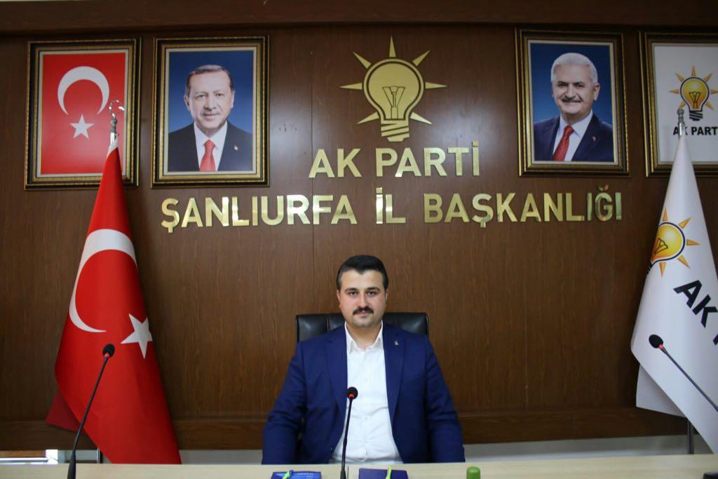 Bahattin Yıldız Resmen AK Parti Şanlıurfa İl Başkanı