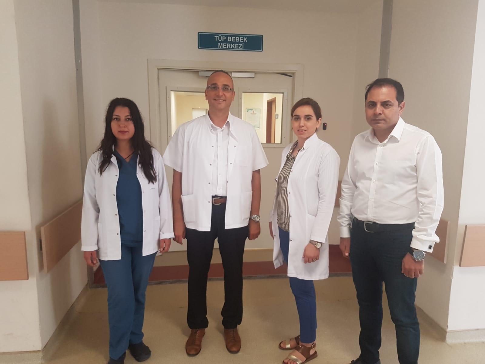Harran Üniversitesi Araştırma ve Uygulama Hastanesi Tüp Bebek Merkezi