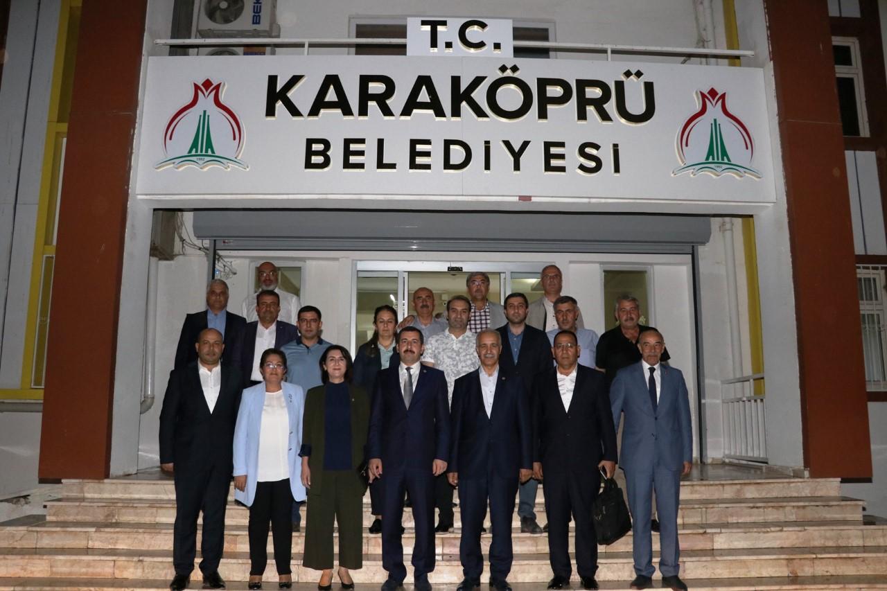 YEREL YÖNETİMLER BAŞKAN YARDIMCISI FIRAT'TAN BAŞKAN BAYDİLLİ'YE ZİYARET