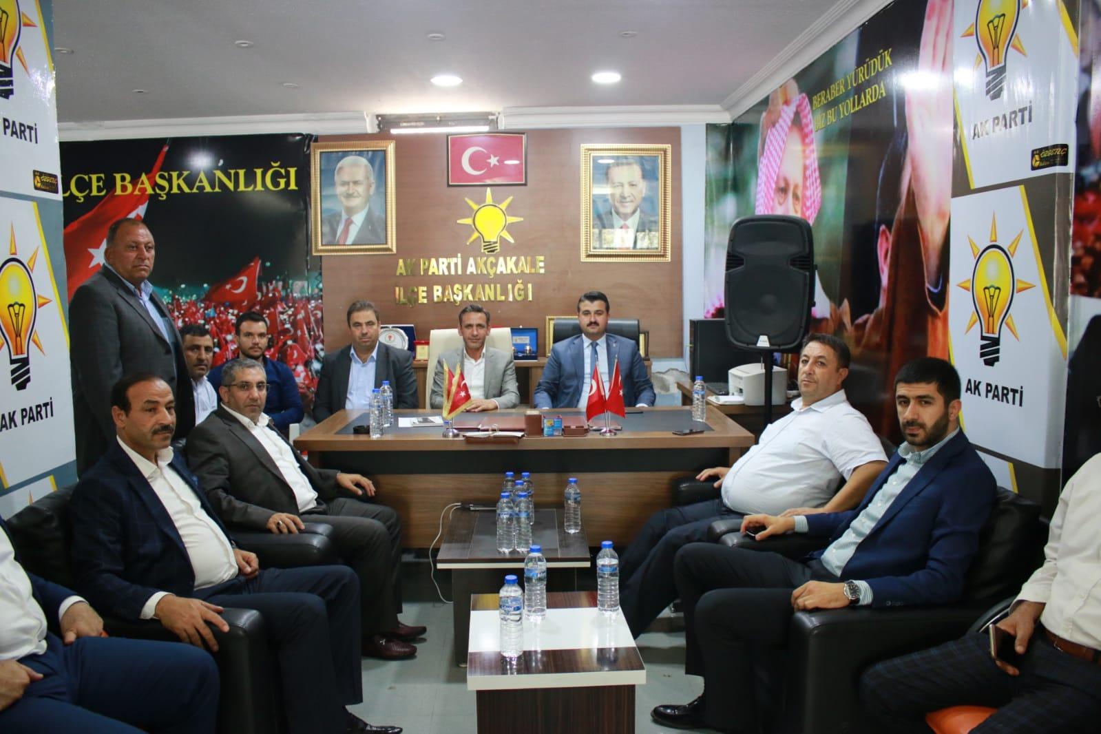 Başkan Yıldız Yerel Seçimler Öncesi Harran ve Akçakale'yi Ziyaret Etti