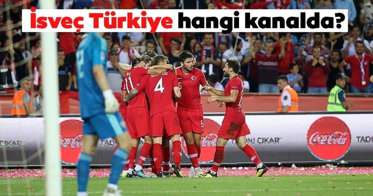 Türkiye - İsveç maçı hangi kanalda, saat
