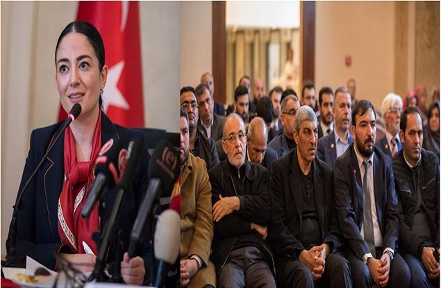 Saadet Partisi Karaköprü adayını