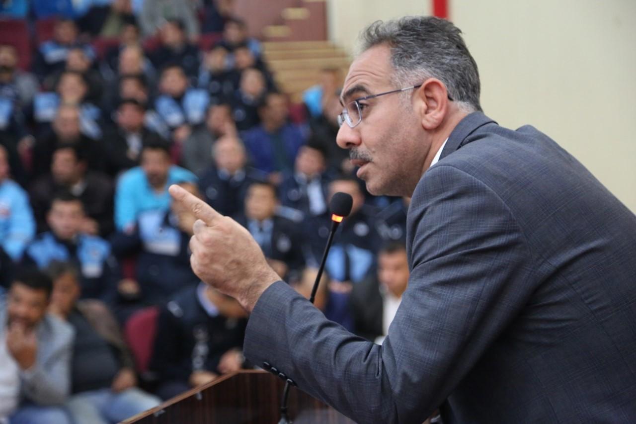 """BAŞKAN KUŞ,"""" HEDEFİMİZ TERTEMİZ EYYÜBİYE"""""""