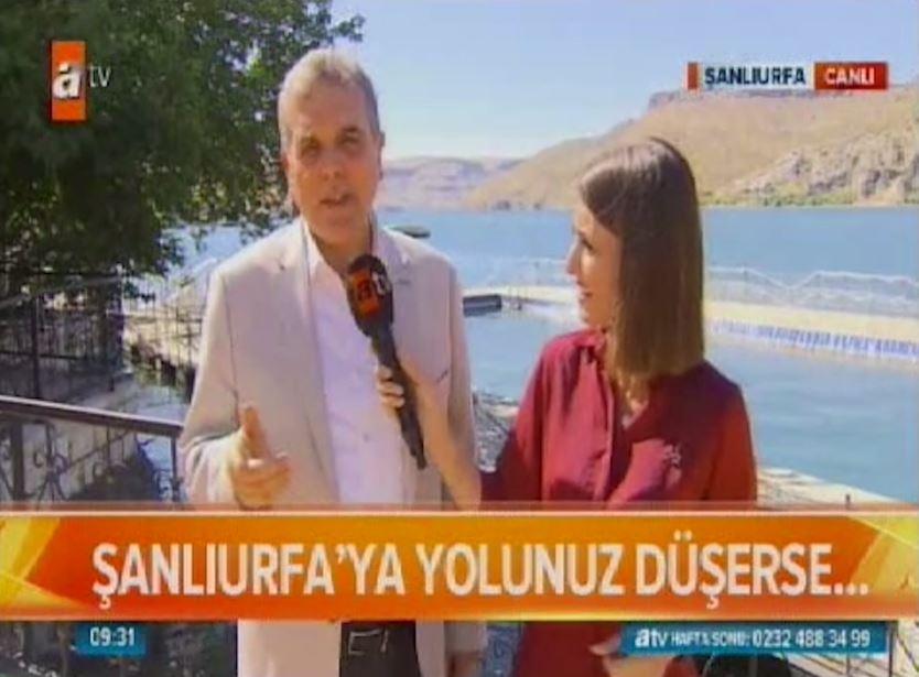 BAŞKAN BEYAZGÜL, ATV'DE ŞANLIURFA'YI ANLATTI