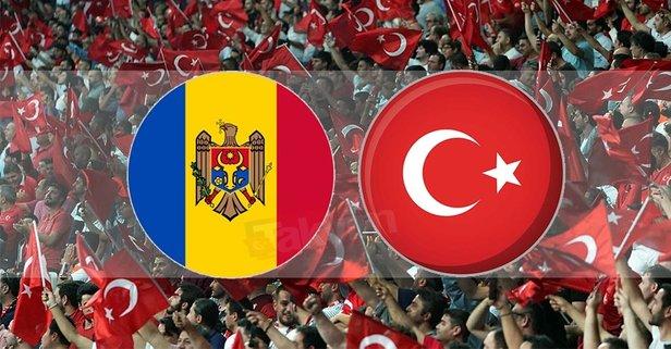 Moldova Türkiye maçı hangi kanalda?