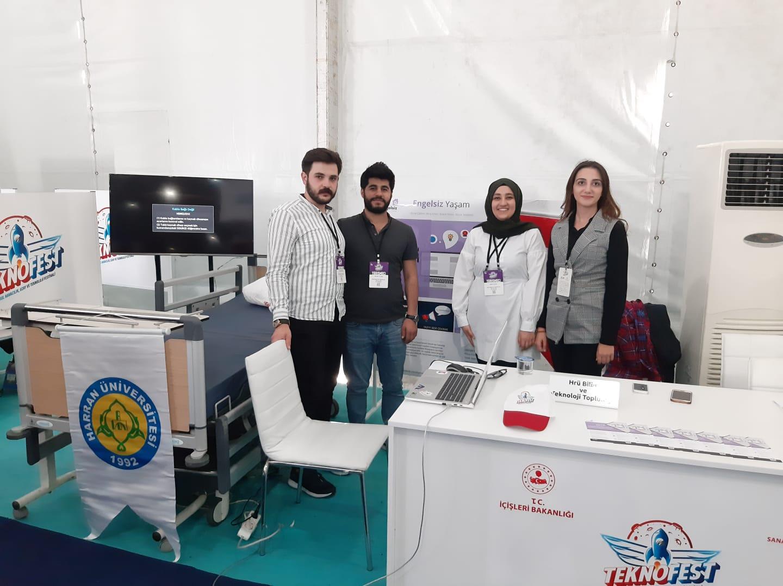 Teknofestte Harran Üniversitesi Sağlık Kategorisinde 2.