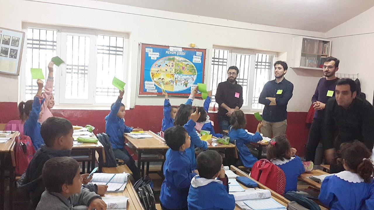 Okullarda Beslenme ve Hijyen Konularında İnteraktif Eğitimleri Devam Ediyor.