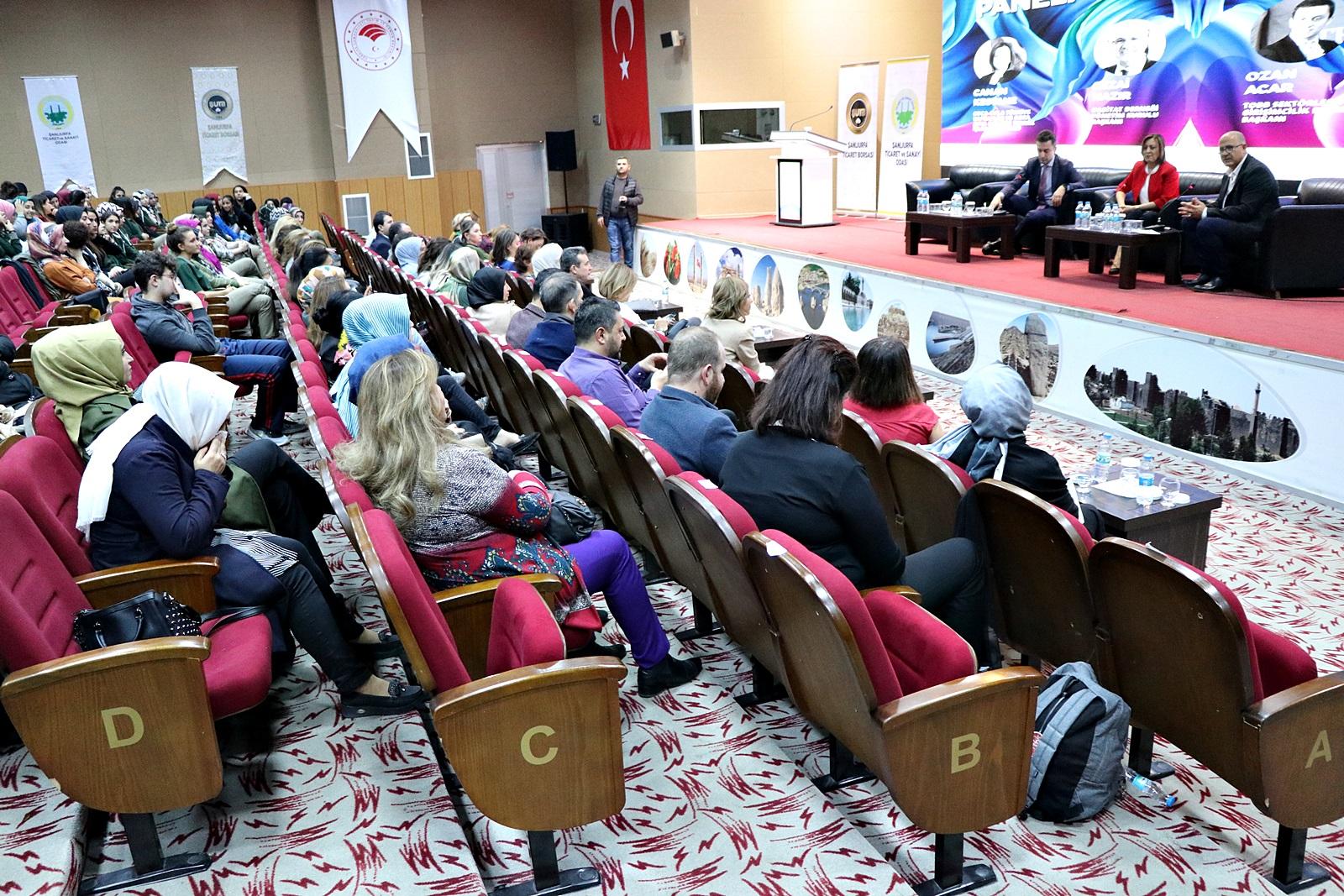 KADIN GİRİŞİMCİLER İLE İLHAM BULUŞMASI ŞANLIURFA'DA