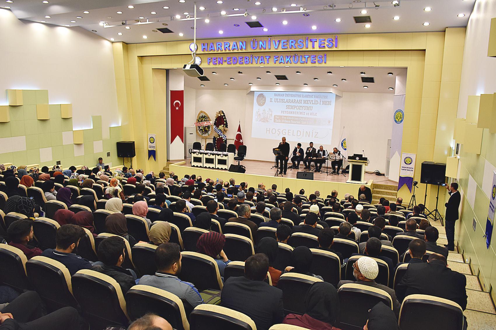 II. Uluslararası Mevlid-i Nebi Sempozyumu Harran Üniversitesi'nde