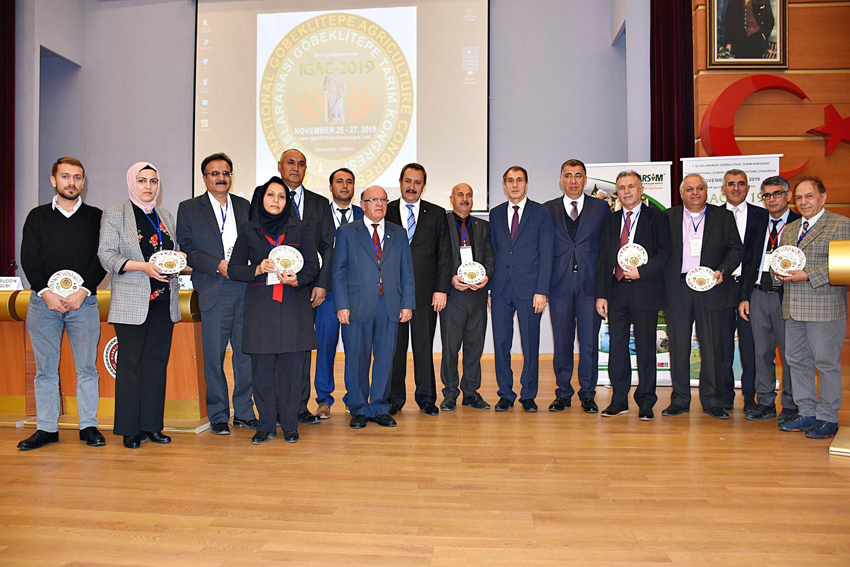 1.Uluslarası Göbeklitepe Tarım Kongresi Başladı