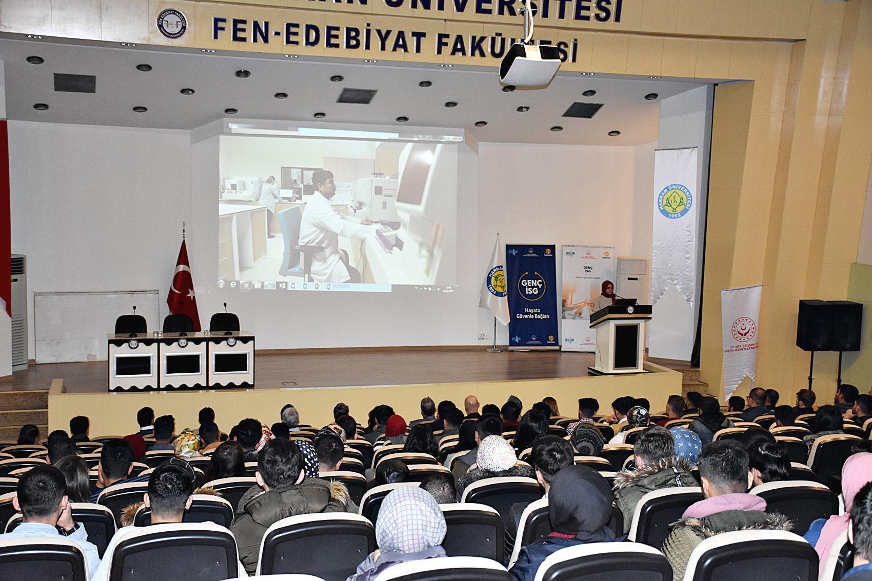 Genç İş Sağlığı Uzmanları Harran Üniversitesi'nde Buluştu