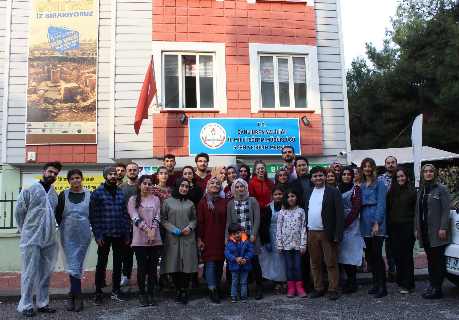 Harran Üniversitesi Öğrencilerinden Sosyal Sorumluluk Etkinliği