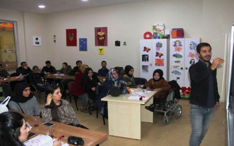 Engelli Vatandaşlara Büyükşehir'den Eğitim Desteği