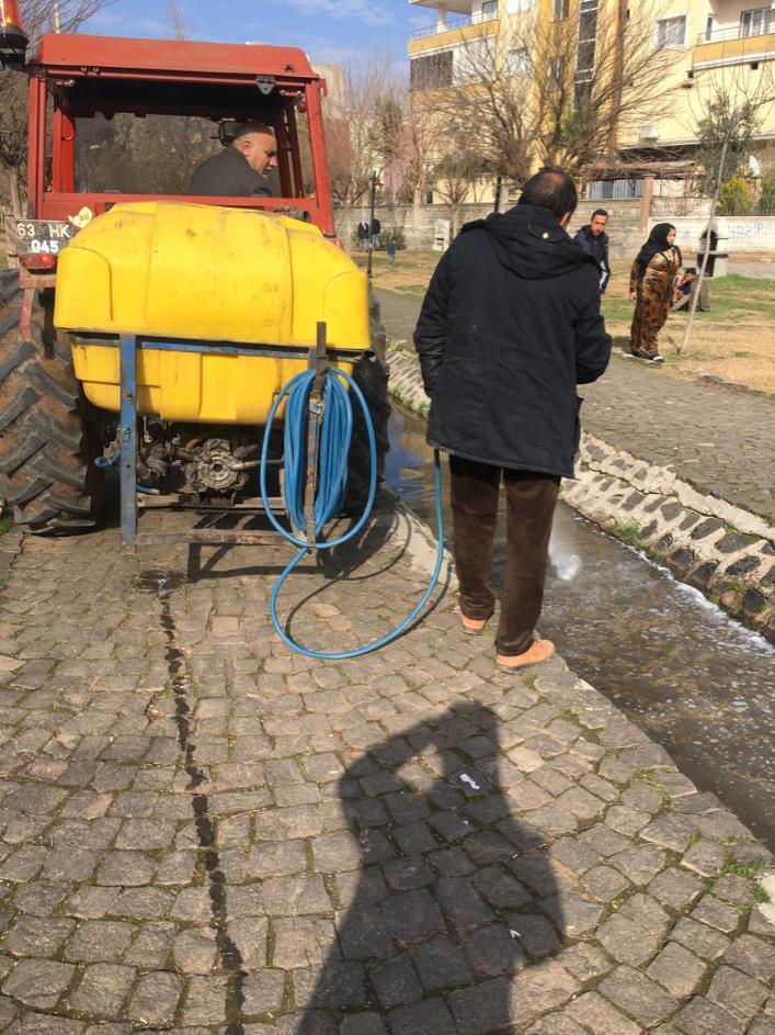 Viranşehir Belediyesinden Larva İle