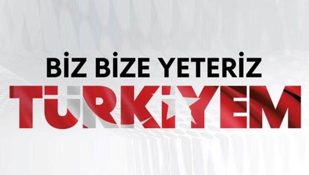 """Karakeçili """"Biz bize yeteriz Türkiyem"""" Kampanyasında bende varım dedi"""
